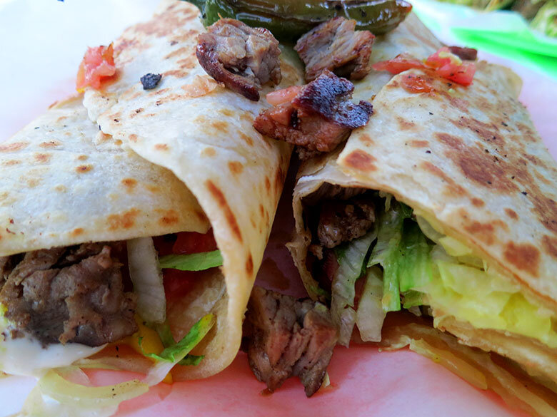Un espléndido burrito mexicano