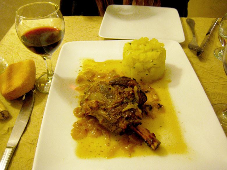 Gastronomía del interior de la islas de Córcega