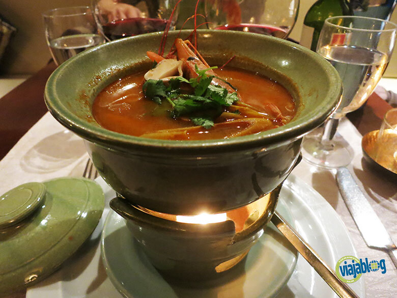 Tom Yam Soup en Thai Gracia