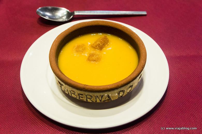 Crema de Verduras, Taberna do Cantón, Ferrol