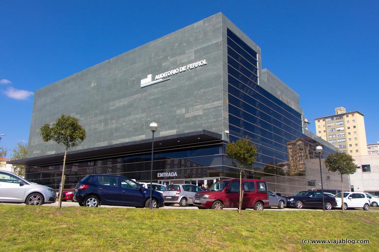 Nuevo Auditorio de Ferrol, Coruña, Galicia