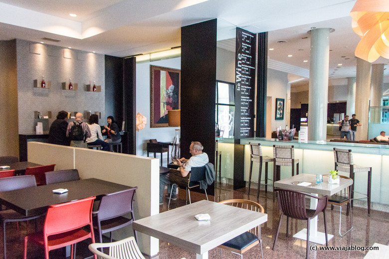 Cafetería Restaurante, Hotel Rafael Atocha, Madrid