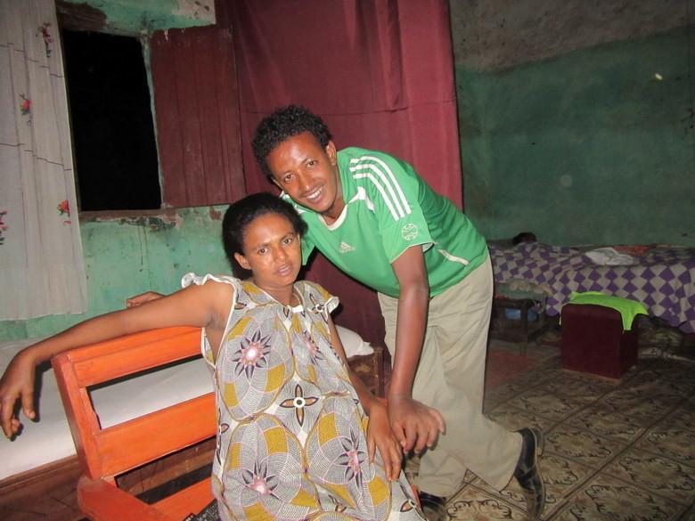 Arega y su mujer Foto (C) David Escribano