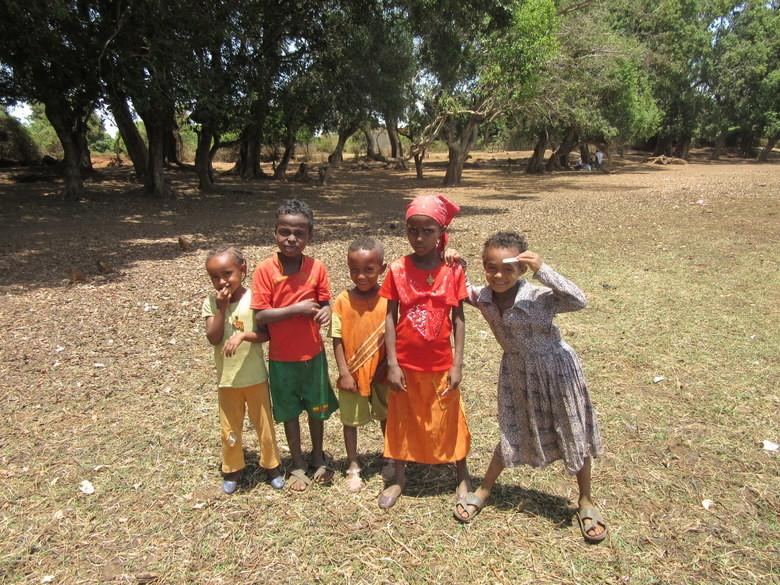 Niños de la aldea Foto (C) David Escribano