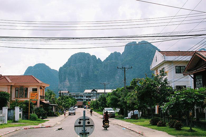 Vistas a Vang Vieng