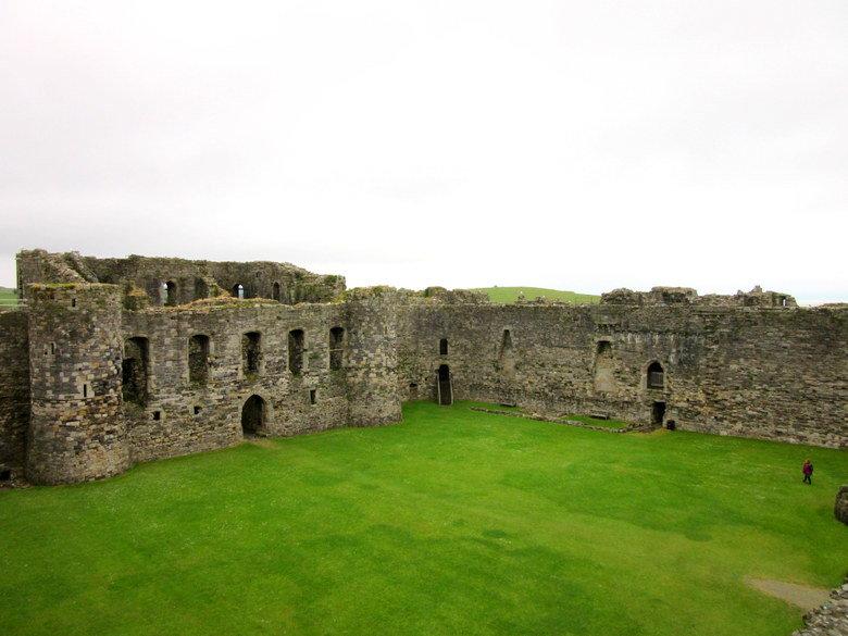 El castillo de Beaumaris