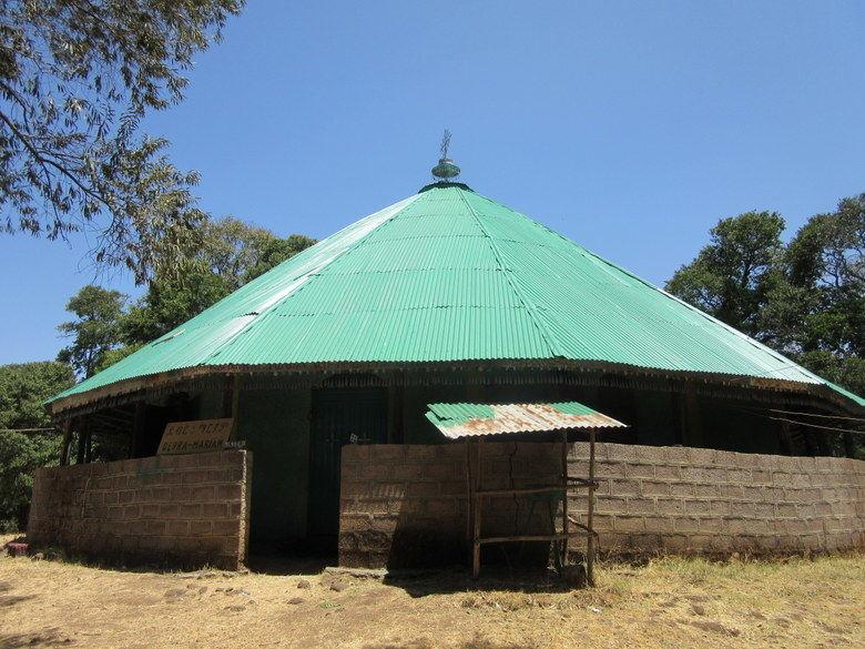 La iglesia de Debre Maryam