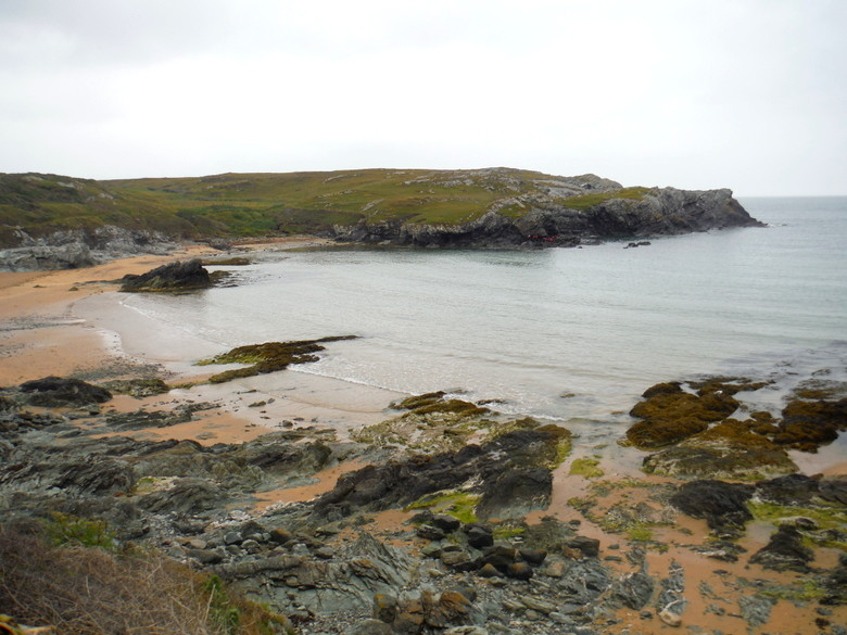 El lugar donde hicimos coasteering en Gales