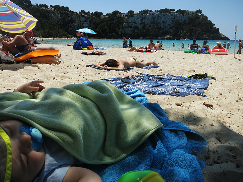 El relax en Menorca, apto para todas las edades