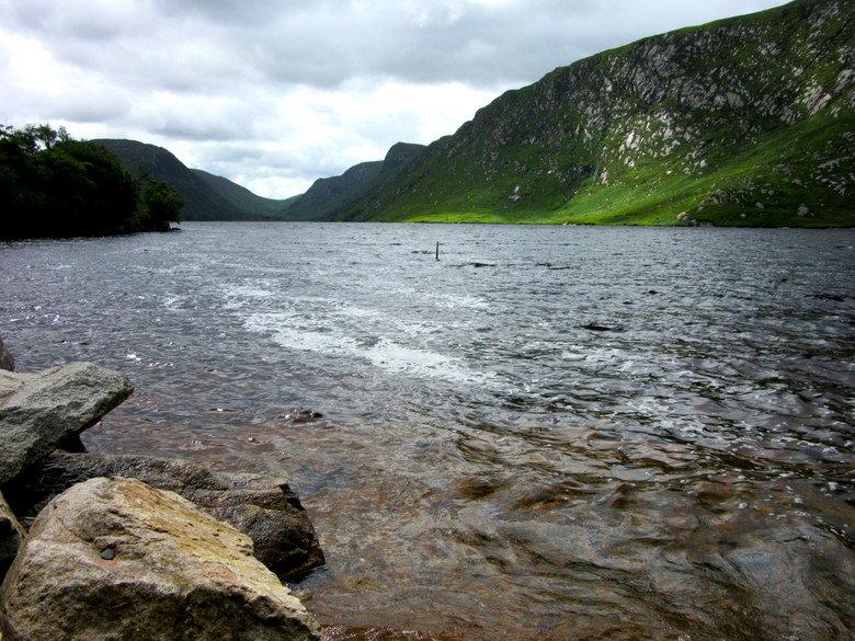 El lago Veagh en Glenveagh