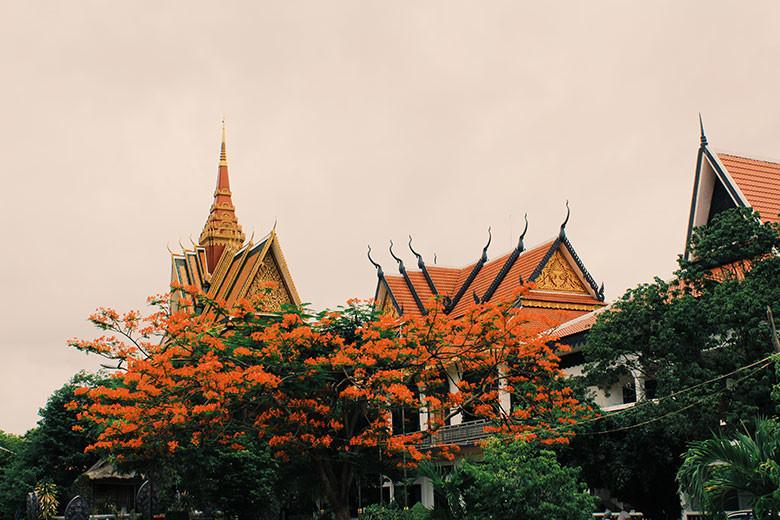 Templo en Siem Reap