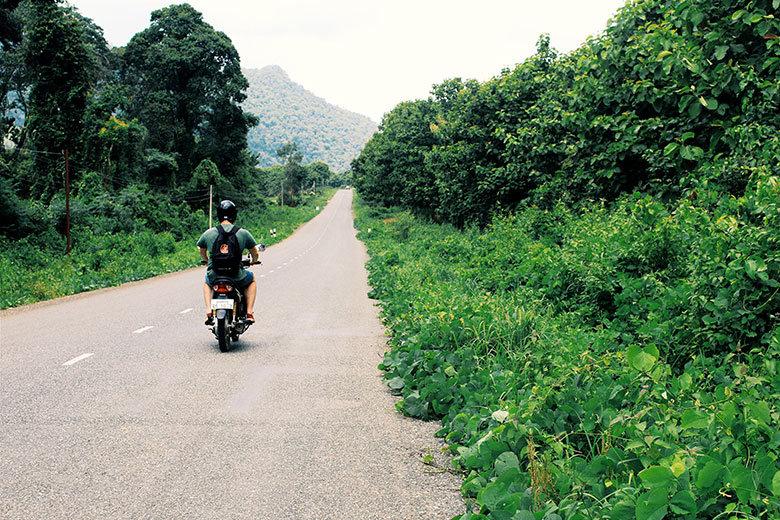 Carretera en Luang Prabang