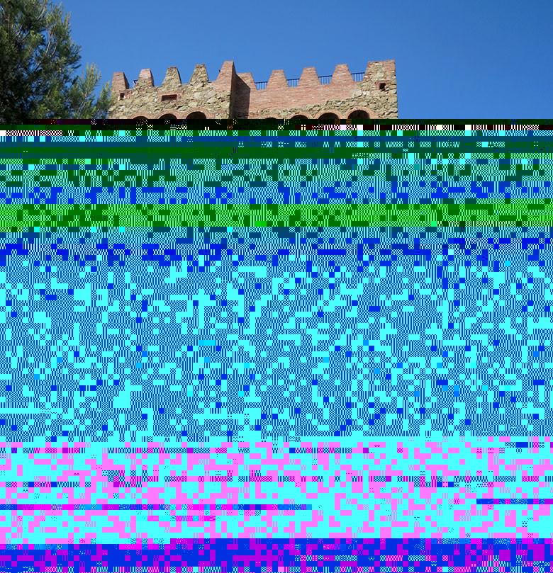 El castillo de Torre Baró