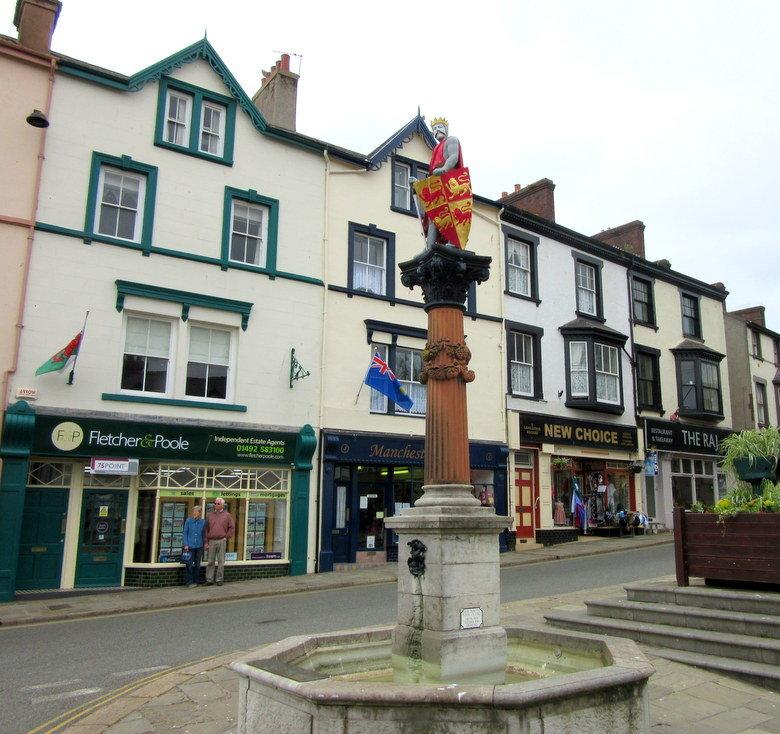 Estatua de Llywelyn