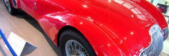 Un Lancia espectacular en el museo Nicolis