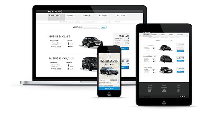 App y web de reservas de transporte privado con Blacklane