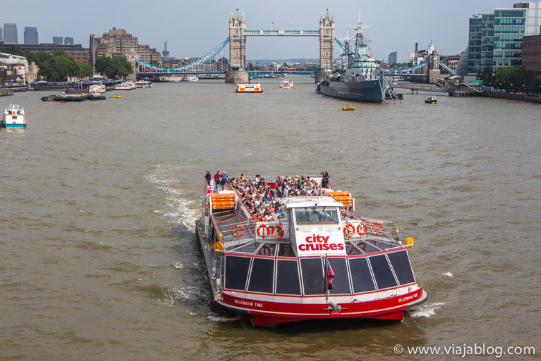 Barco de River Cruises en Londres, gratuito con la Tarjeta The London Pass