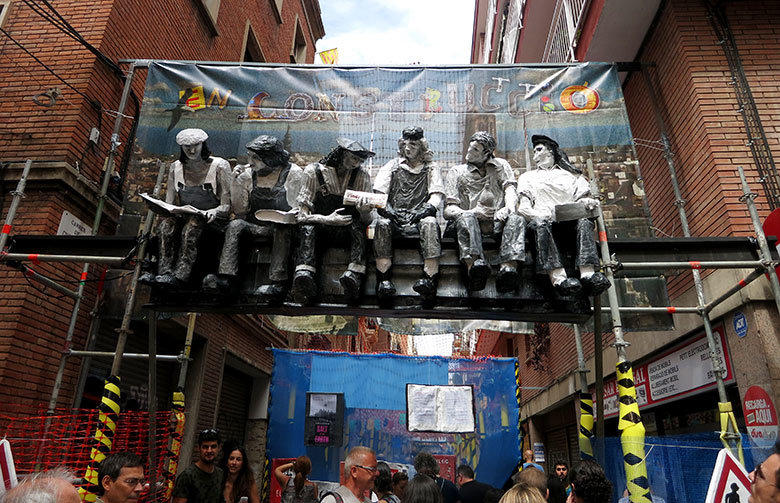 En Construcció. Calle Ramón y Cajal 2015