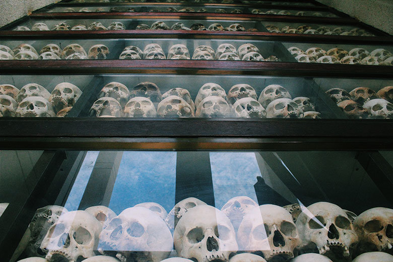 Calaveras en Killing Fields