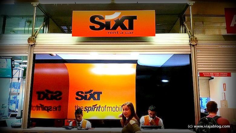 Oficina de alquiler de coches Sixt