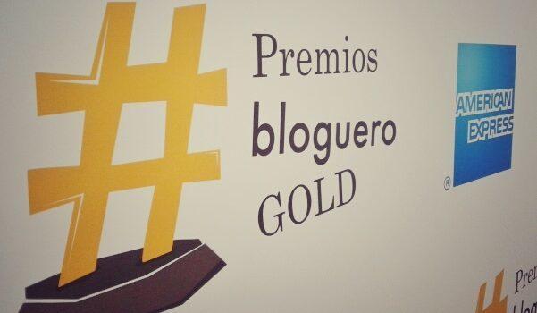 Premios Bloguero Gold de American Express