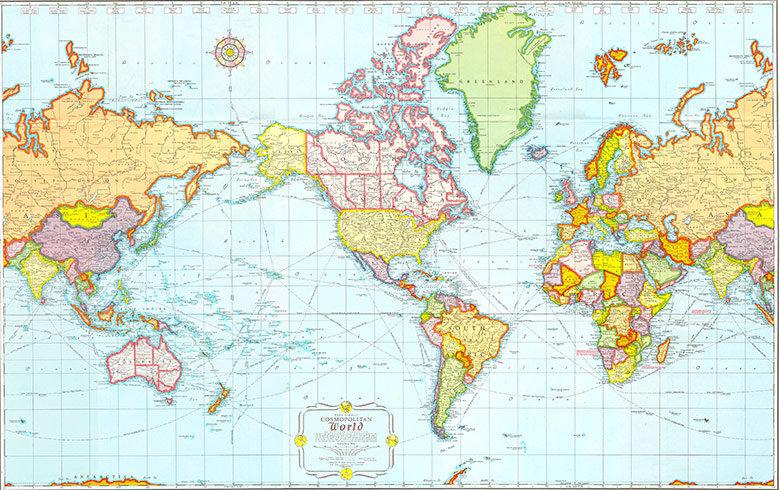 El mundo es muy grande y variado