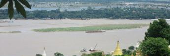 Vistas desde la colina de Sagaing