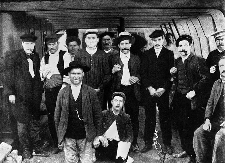 Trabajadores españoles Colonial Sugar Refinery Company, Noth Queensland, 1907, Australia