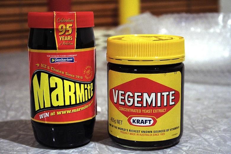 Vegemite y Marmite, Uk y Australia