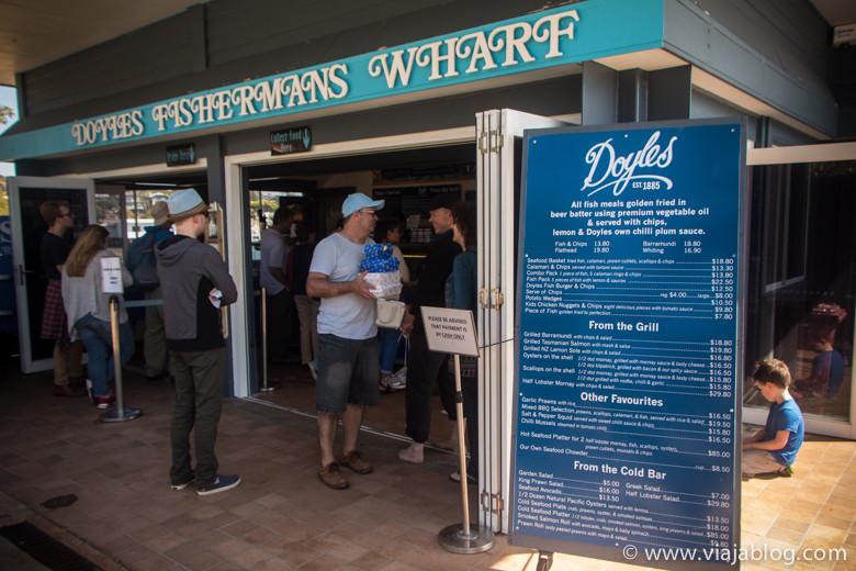 Doyles Fishermans Wharf, Sidney, Australia