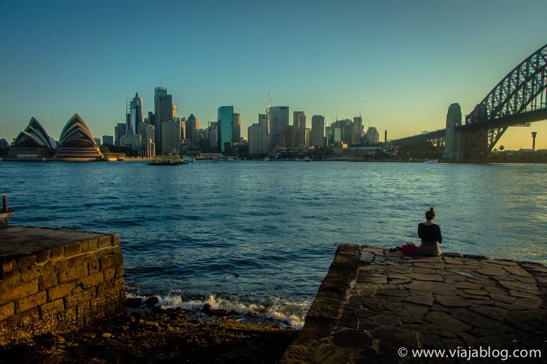 Opera House, CBD y Puente, Milsons Point, Sidney, Australia