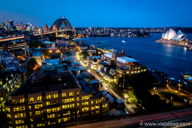 Puerto de Sidney, Australia, desde Four Seasons Hotel