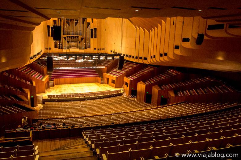 Sala de Conciertos, Sydney Opera House, Sidney, Australia
