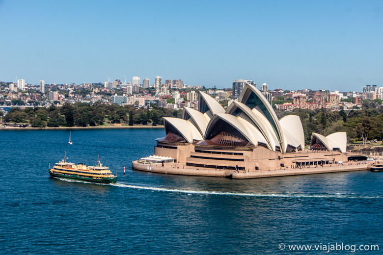 Sydney Opera House en Bennelong Point, Sidney Australia
