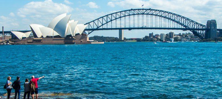 Sydney Opera House y Harbour Bridge, Sidney, Australia