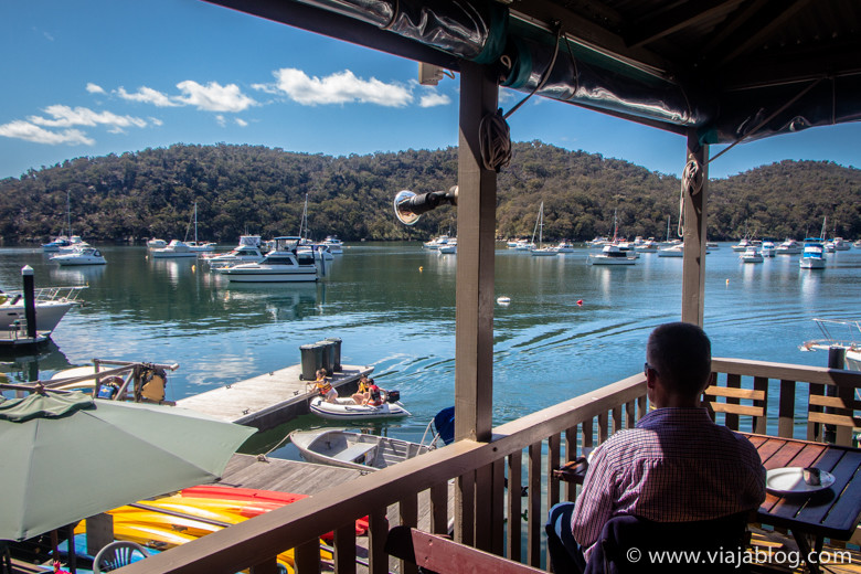 Vistas desde Cottage Point Kiosk Café, Sidney, Australia