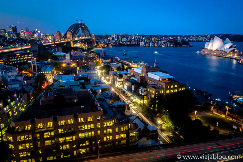 Vistas desde Full Harbour View Junior Suite, Four Seasons Hotel, Sidney, Australia