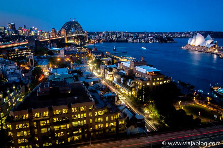 Vistas desde Full Harbour View Junior Suite, Four Seasons Hotel, Sidney, Australia