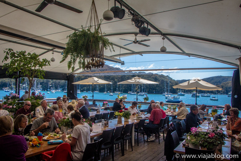 Waterfront Café, Sidney, Australia
