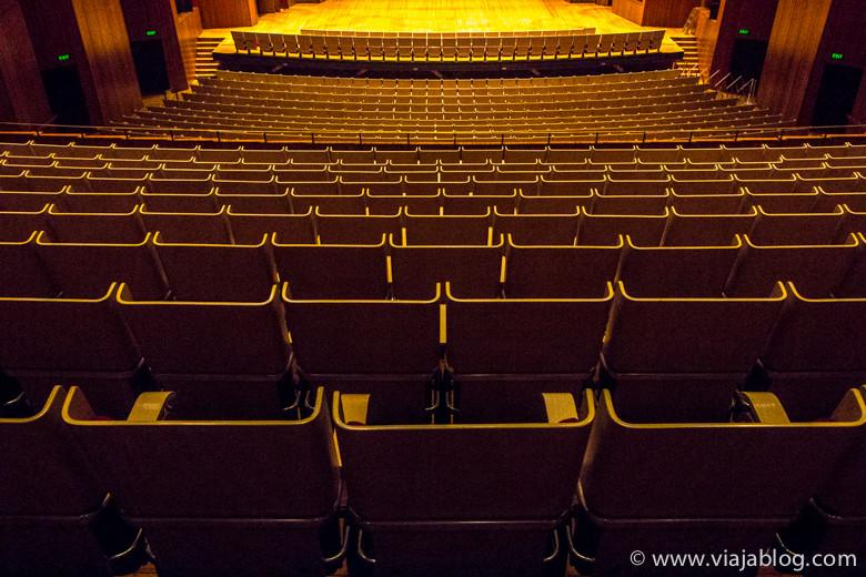 Zona de butacas, Sala de Conciertos, Sydney Opera House, Sidney, Australia