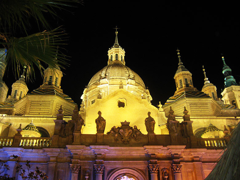 La Basílica del Pilar en Zargoza