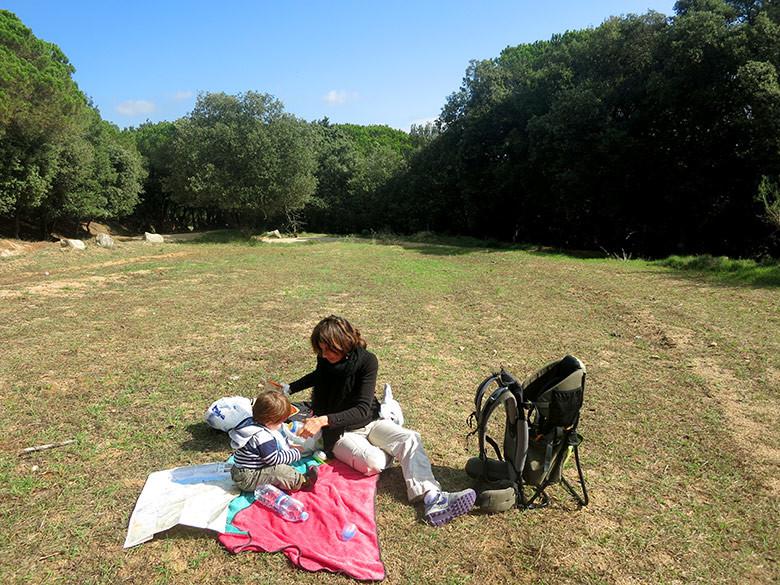 De picnic por la Serralada del Litoral