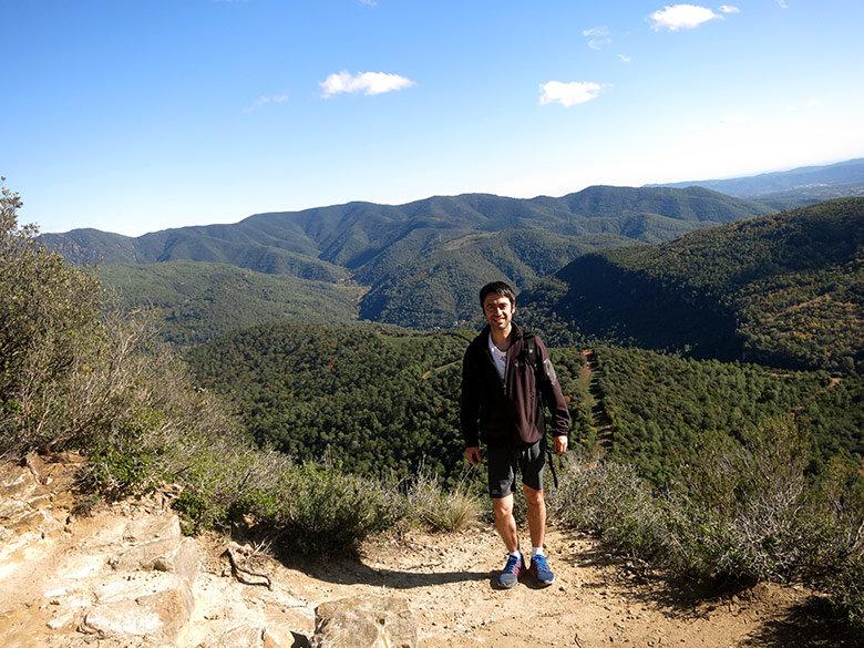 Vistas al Montseny desde La Trona