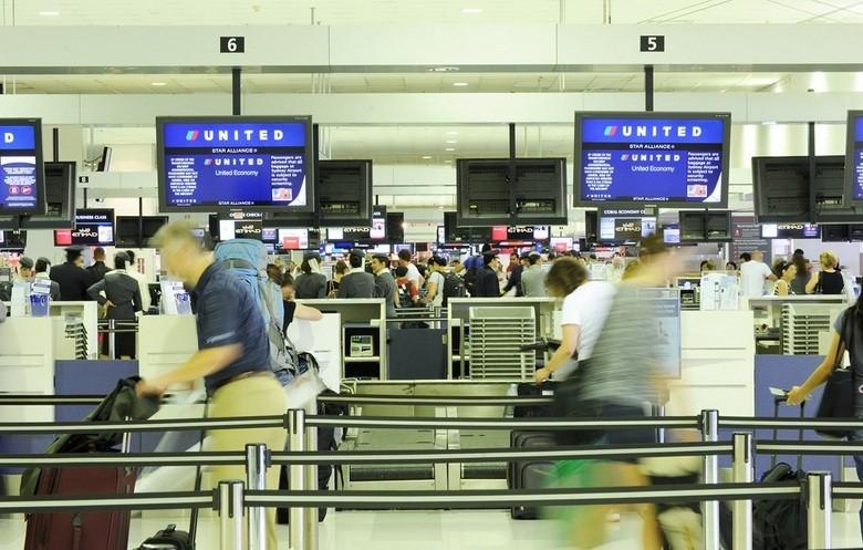 Mostradores de Facturación T1, Aeropuerto de Sidney, Australia