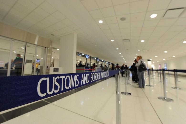 Control de Aduanas, Aeropuerto de Sidney, Australia