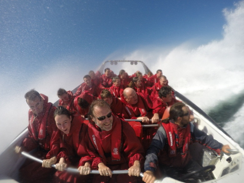 Un giro más serio Oz Jet Boating, Sidney, Australia