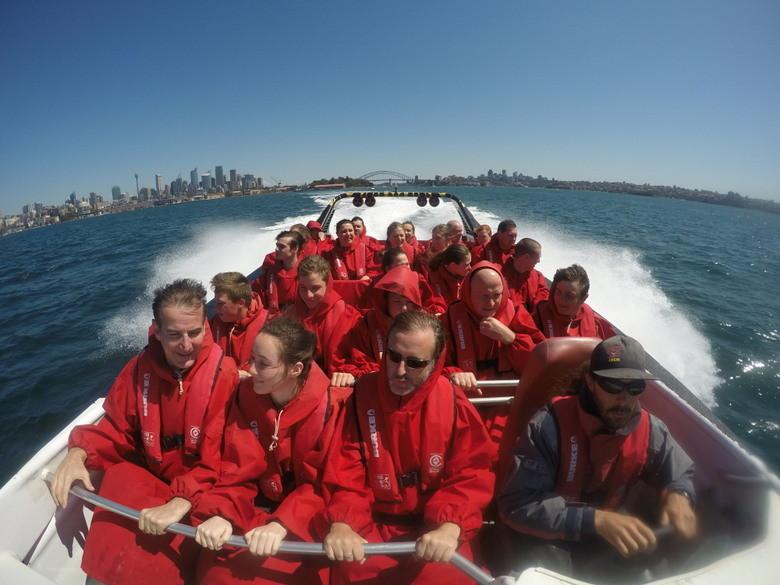 Viaje tranquilo Oz Jet Boating, Sidney, Australia