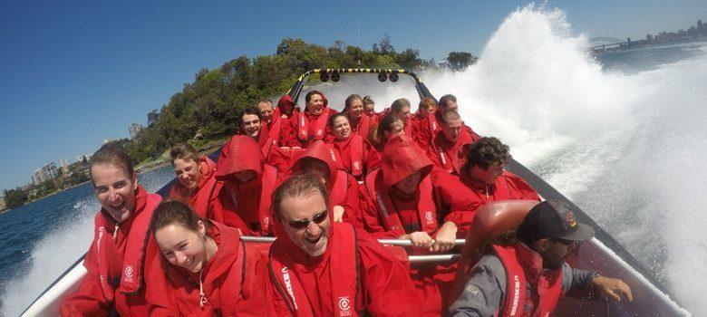 Empieza a girar Oz Jet Boating, Sidney, Australia