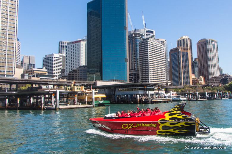 Oz Jet Boating, Sidney, Australia