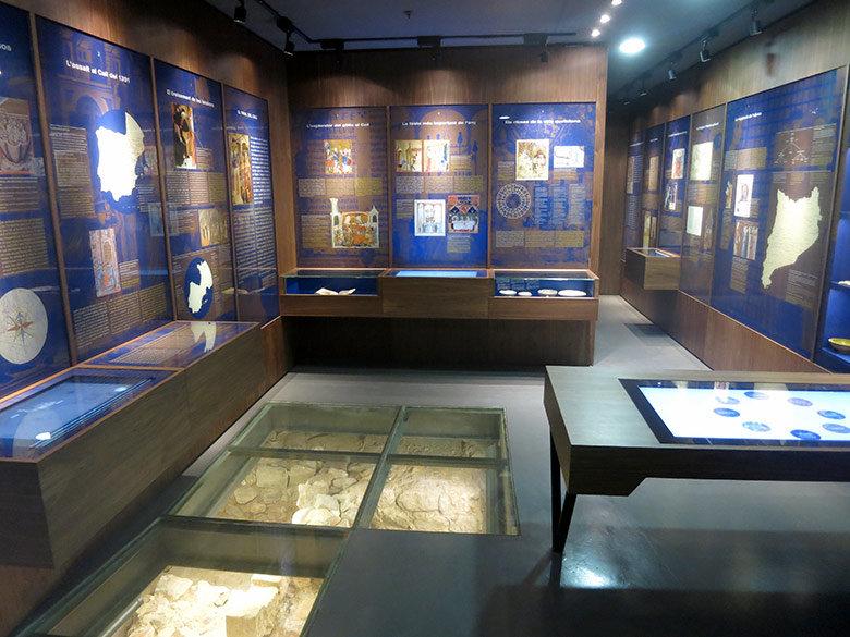 Sala principal del museo Call de Barcelona